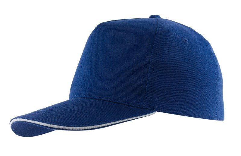 Sandwich-Cap, 5 Panel H´brusehd, blue