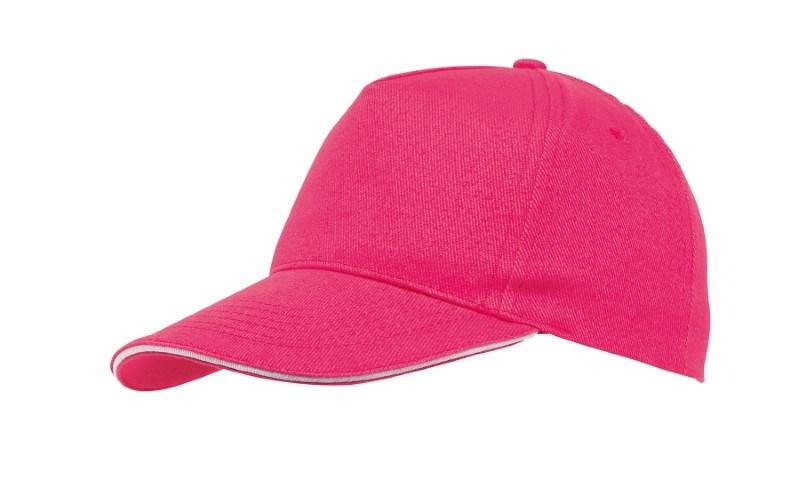 Sandwich-Cap, 5 Panel H´brusehd, pink