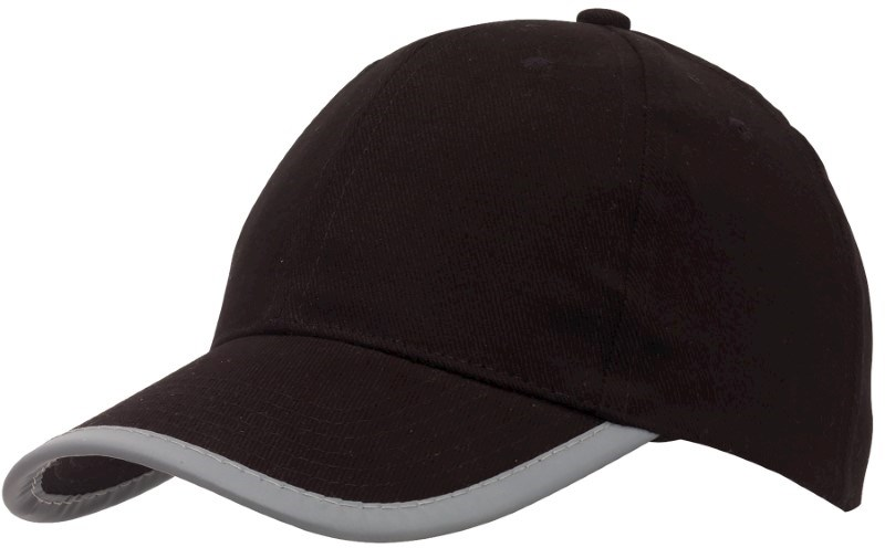 reflecting cap, 6-Panel