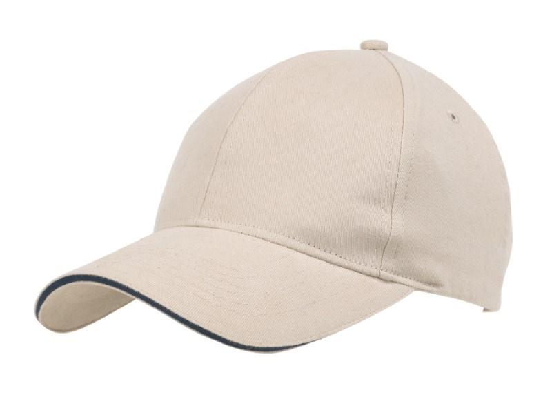 SANDWICH-CAP,HEAVY BRUSH.,beige