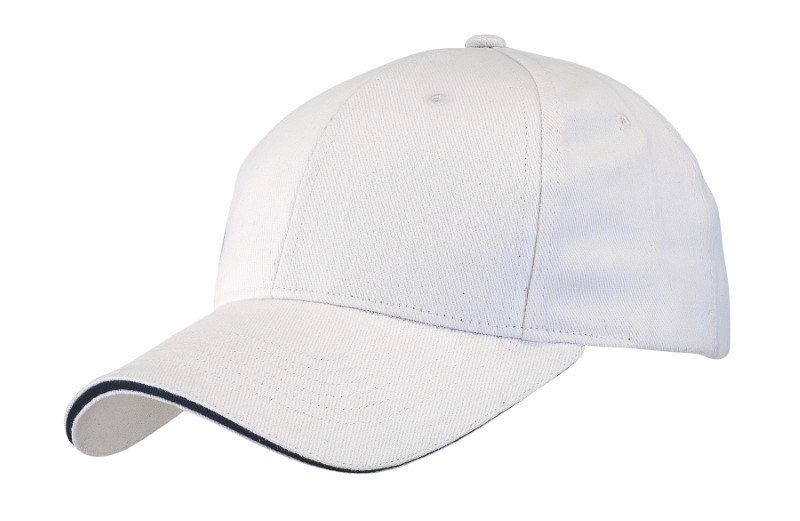 SANDWICH-CAP,HEAVY BRUSH.,white