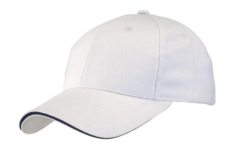 SANDWICH-CAP,HEAVY BRUSH.,white
