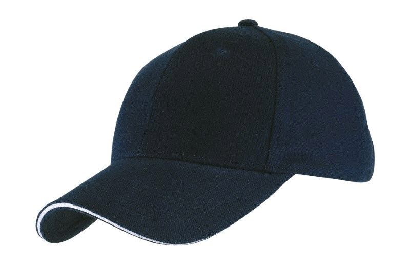 SANDWICH-CAP,HEAVY BRUSHED,navy