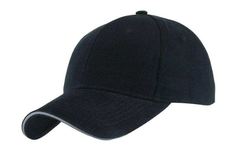 SANDWICH-CAP,HEAVY BRUSH.,black