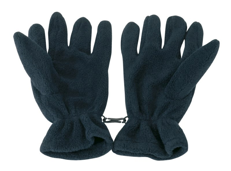 Glove, POLYESTER-FLEECE,navy