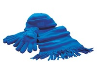 Fleece Set,Polar Fleece,royal blue