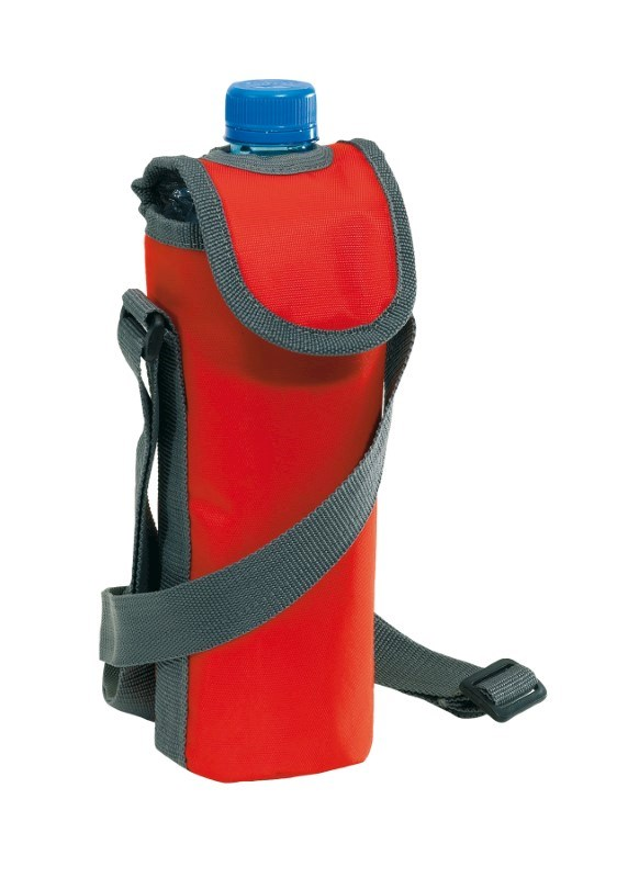 420D cooler bag for 0,5l bottle, red