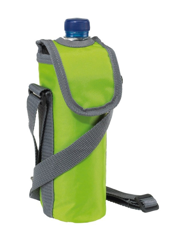 420D cooler bag for 0,5l bottle, green