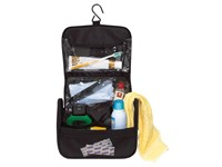 Toilet bag'Wide awake' 600d, black