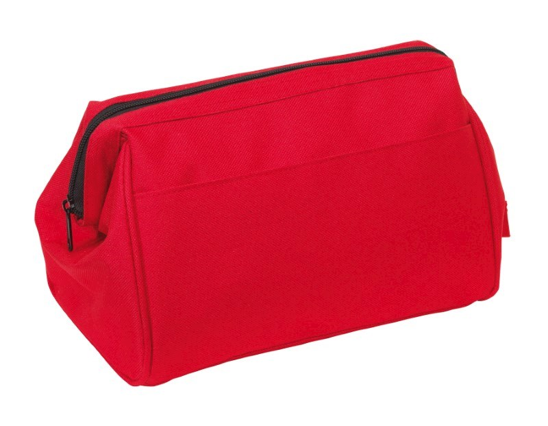 Toilet bag'Daybreak' 600d, red