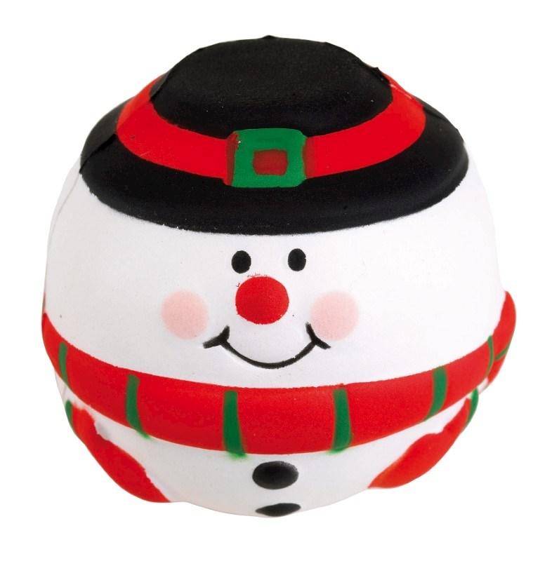 Anti-stress ball, snowman