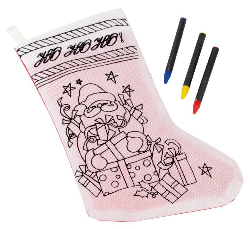 coloring sock
