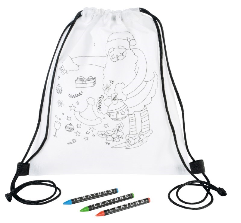 coloring kids-sportbag