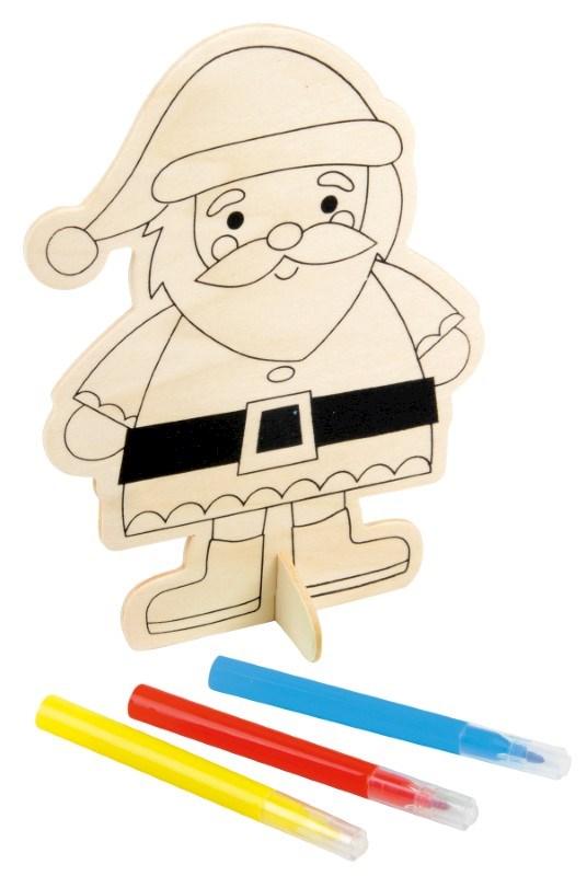 colouring santa