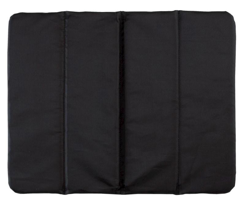 Chair cushion, 3times foldable, Black