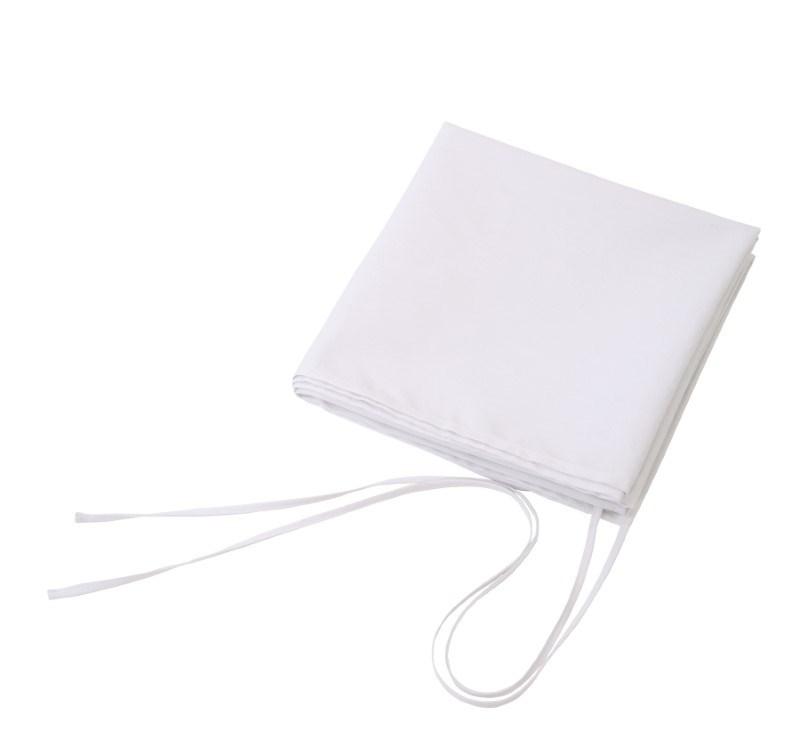 apron,100x100cm, white