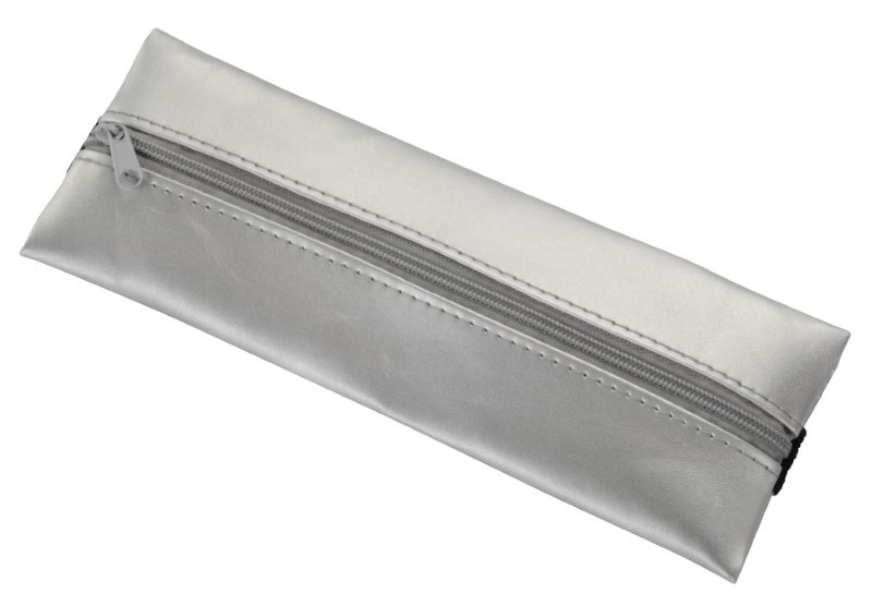 Pen case for notebooks KEEPER, silver