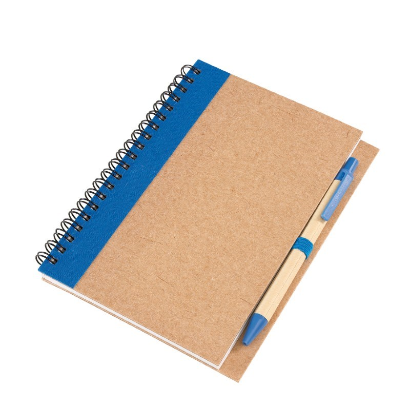 spiral note book, 70 sheets, blue