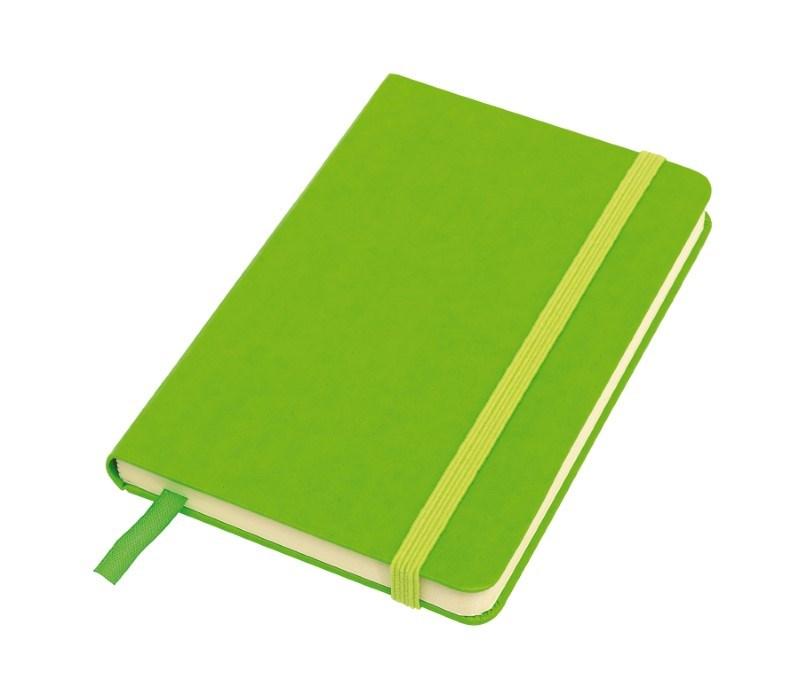 Notebook 'Attendant' , A6, apple green