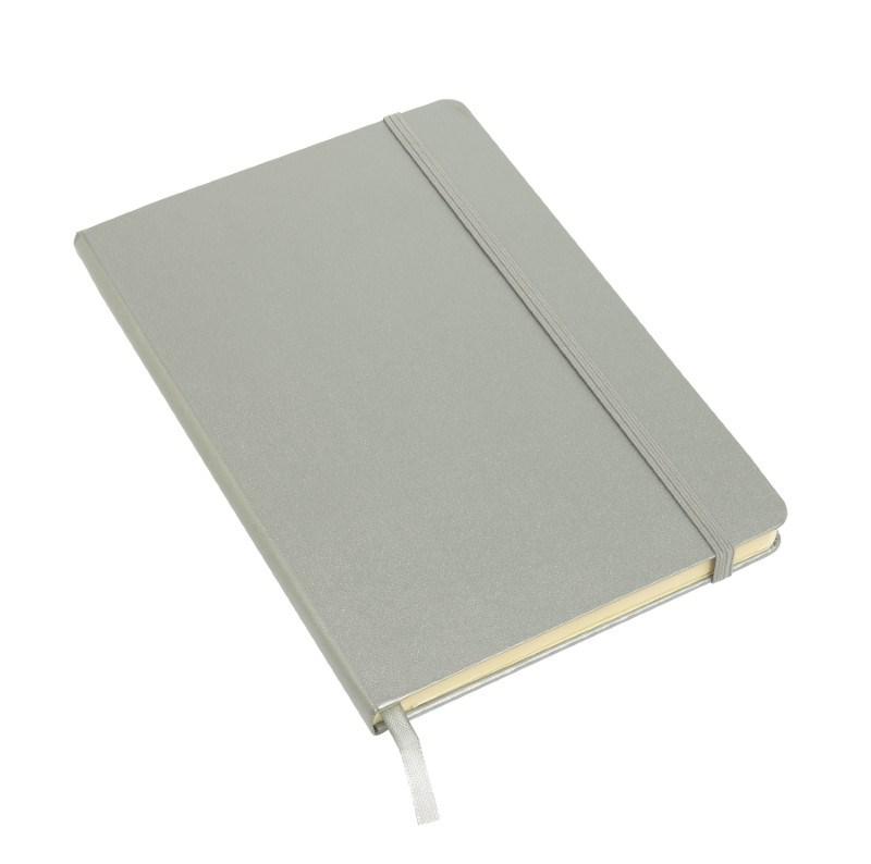 Notebook 'Attendant' , A5, silver