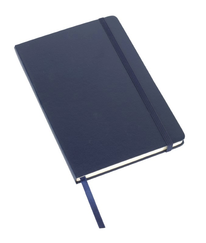 Notebook 'Attendant' , A5, navy blue