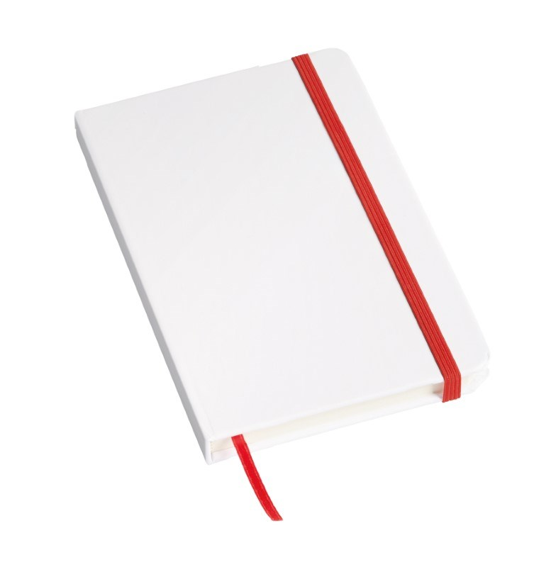 Notebook 'Author' , A6, red