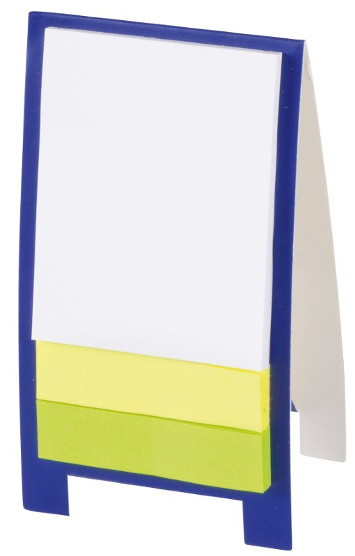 Mini advert display stand ADVERTT, blue