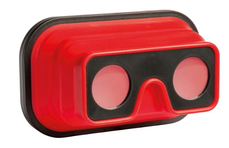 VR Glasses IMAGINATION FLEX, red