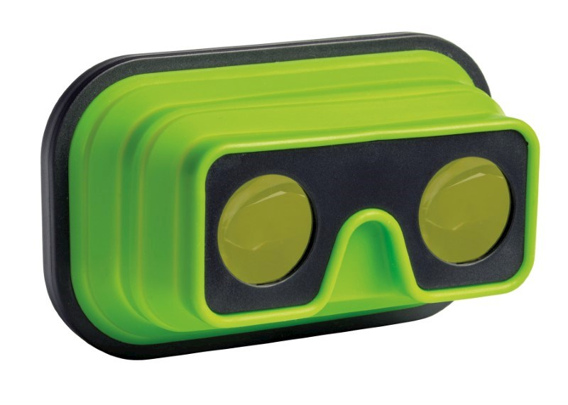 VR Glasses IMAGINATION FLEX, green