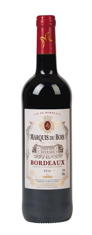 Marquis du Bois, red wine 2016