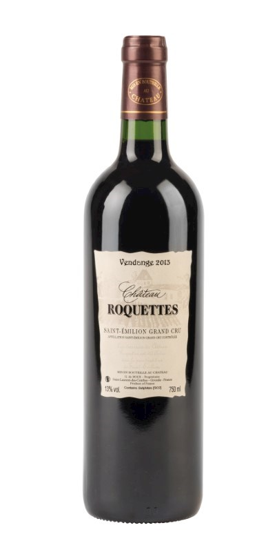 Chateau Roquettes, red wine 2013