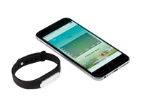 Fitness bracelet TRACKER, black