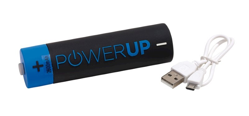Powerbank POWER UP, blue/black