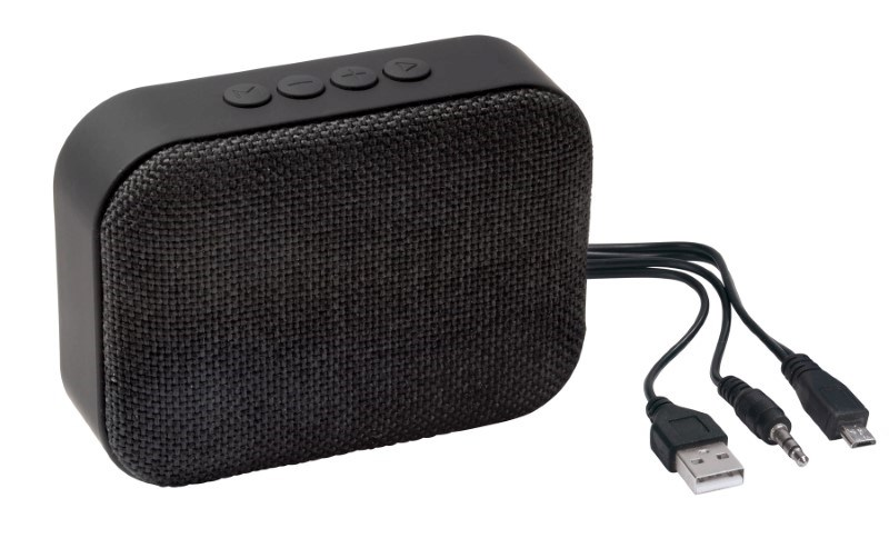 Bluetooth speaker MESHES, black