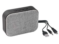 Wireless speaker MESHES, grey