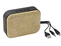 Bluetooth speaker MESHES, beige