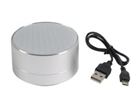 Wireless speaker UFO, silver