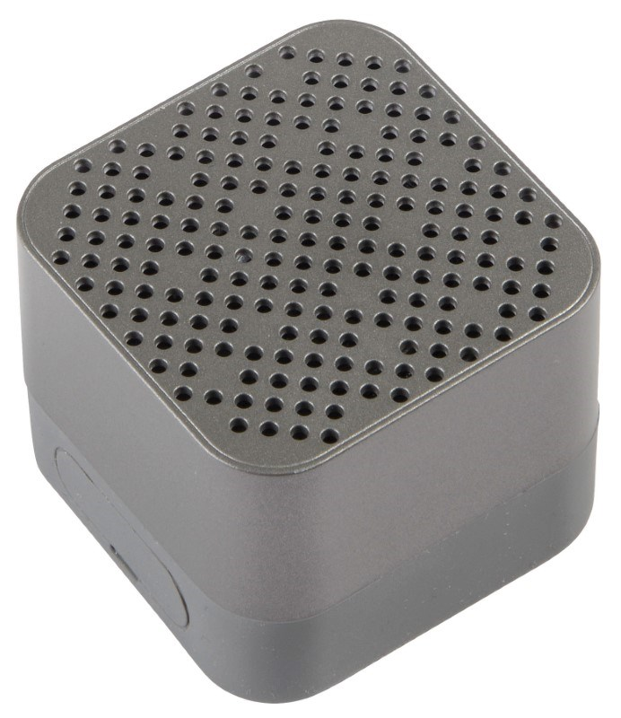 Wireless speaker CUBIC, grey