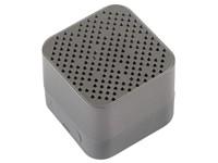 Wireless speaker CUBIC, grey
