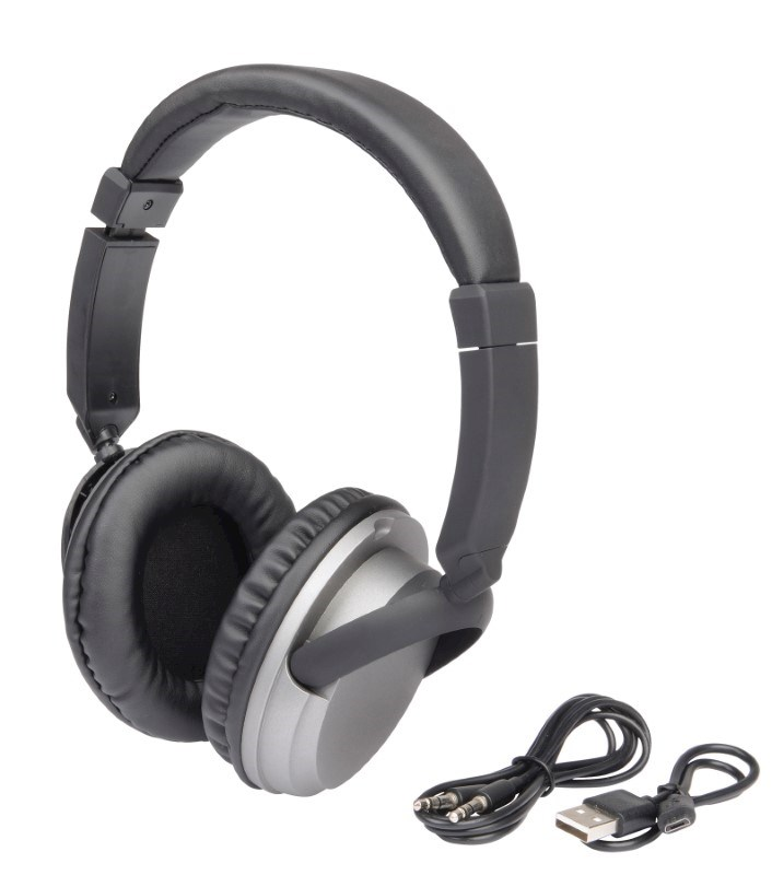 Wireless headphones COMFY black/silver