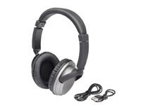 Bluetooth hoofdtelefoon COMFY, zilver, zwart