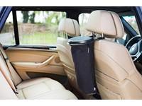 Flextrash 5L voor in de auto - zwart