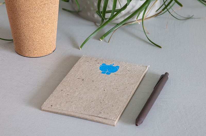 Coasters made from elephant poo- set of 5 pieces