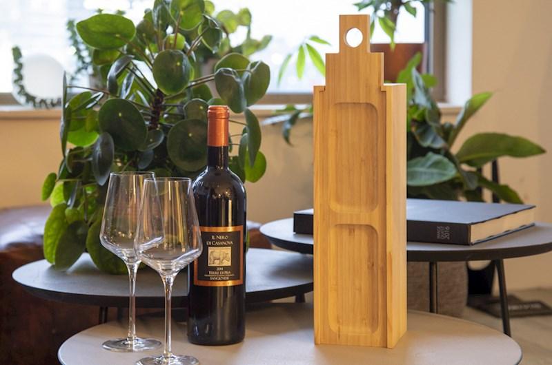 Rackpack casa de tapas- een wijnkist én een tapas plank in één