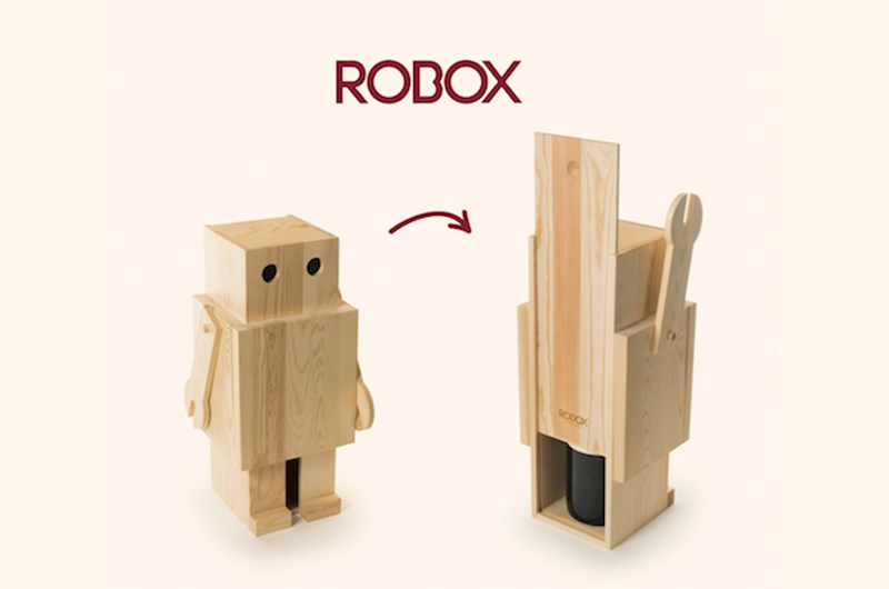 Rackpack Robox: een wijnkist én een Robox met kaasplank in één