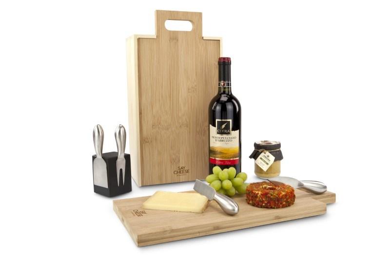 Rackpack SayCheese: een wijnkist én kaasplank in één