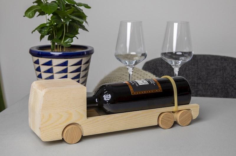 Rackpack Winetruck- een wijnkist én een speelgoed truck in één