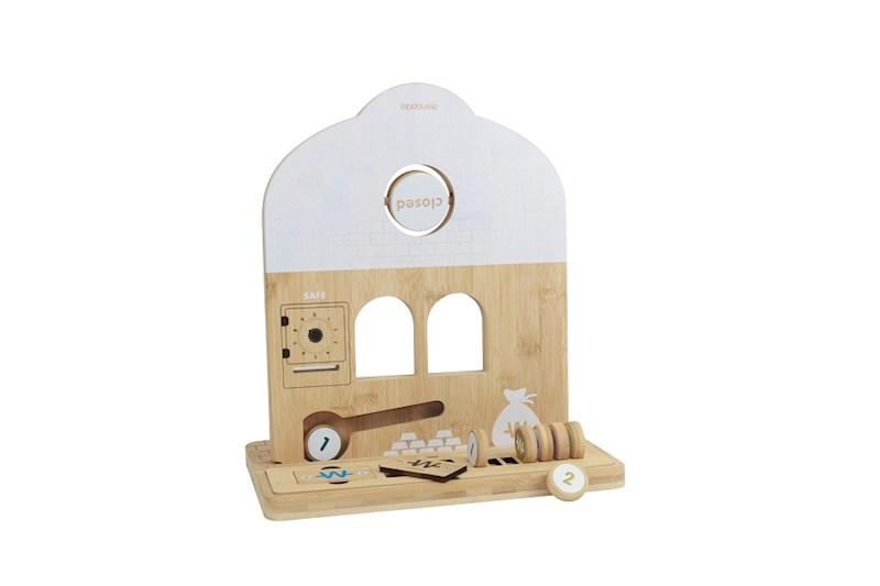Speelgoedwinkel gemaakt van bamboe - Bank