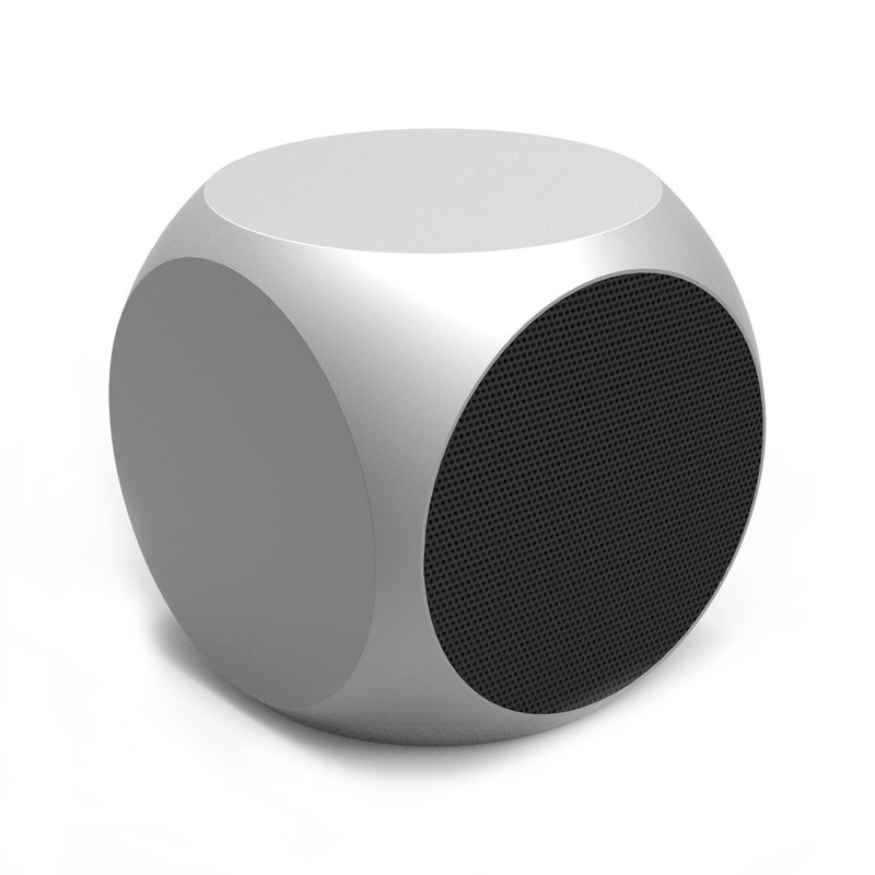 Xoopar Xquare 2 Bluetooth Metal Speaker - silver