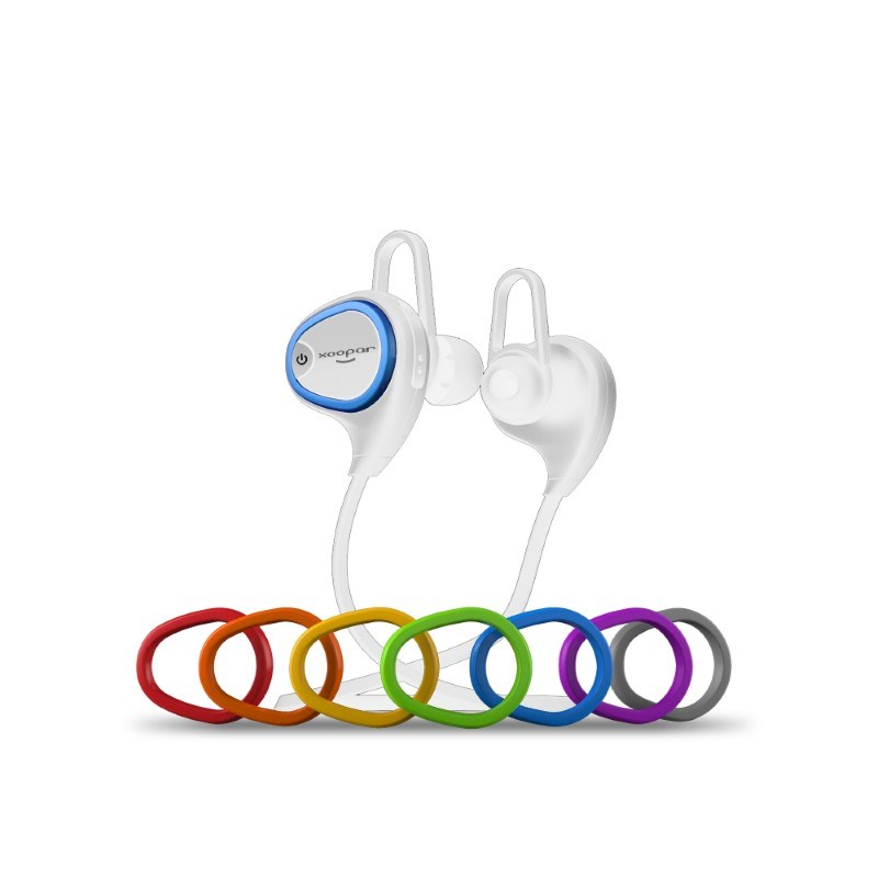 Xoopar Ring Earbuds - white